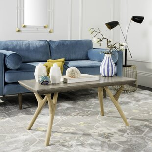 Ryker Concrete Coffee Table