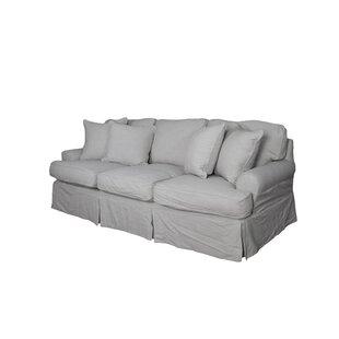 Callie T-Cushion Sofa Slipcover
