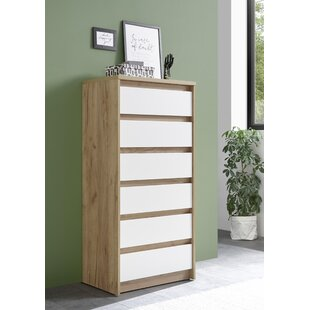 Fritz 6 Drawer Chest By Mercury Row