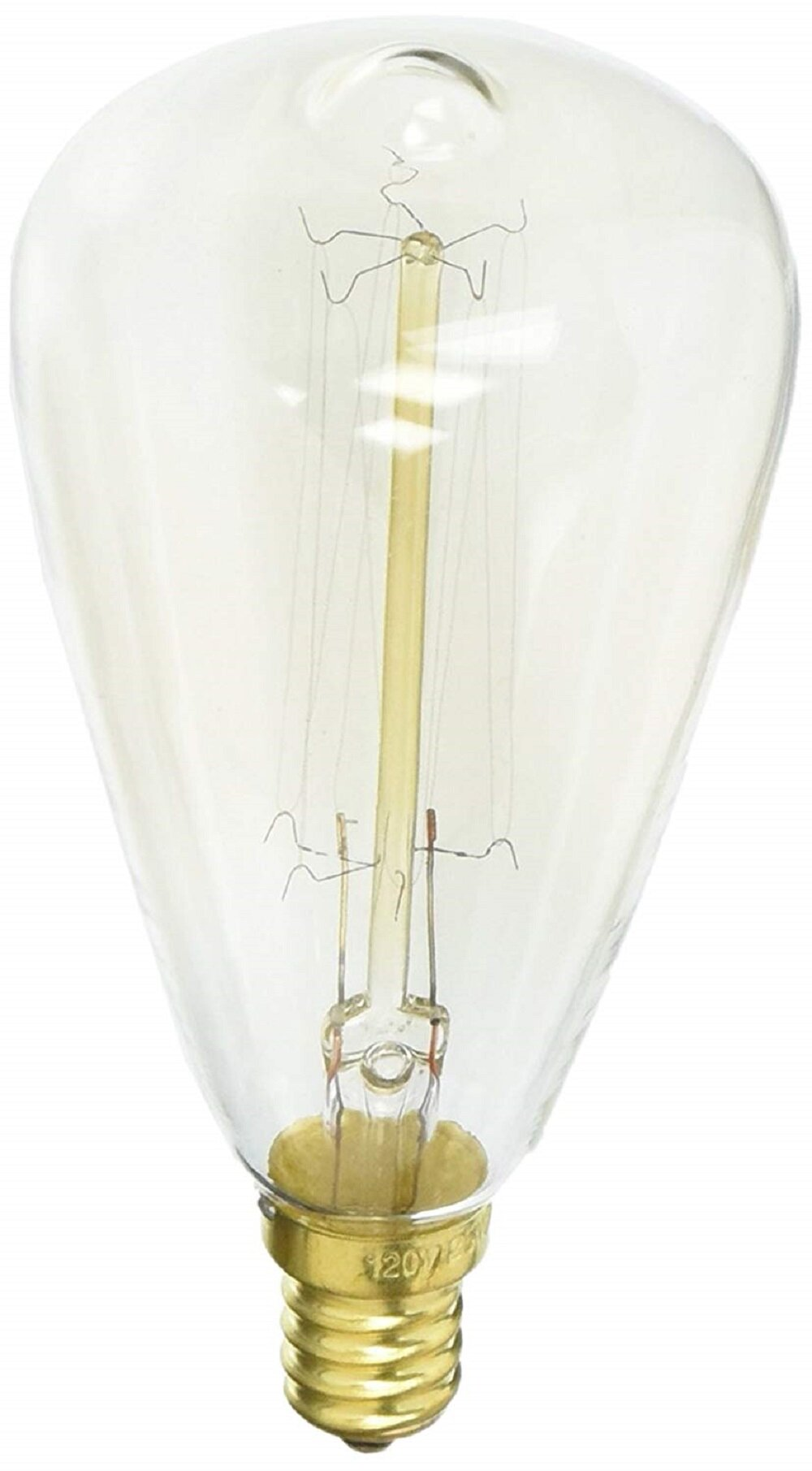 Urbanest 40 Watt St58 Incandescent Dimmable Light Bulb Warm White 2700k E12 Candelabra Base Wayfair