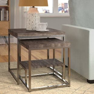 Find Philippos 2 Piece Nesting Tables By Mercury Row