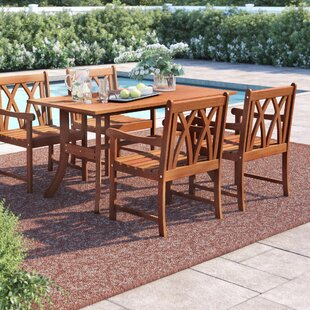 Hershman 5 Piece Dining Set