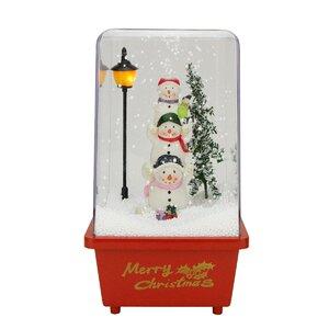 Sowmen Friends Christmas Musical Snow Globe