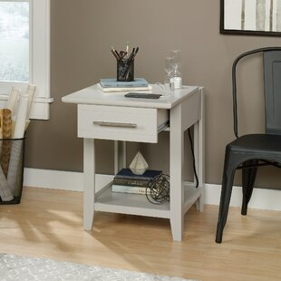 Cornette End Table with Storage