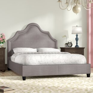 Three Posts Humphries Upholstered Panel Bed
