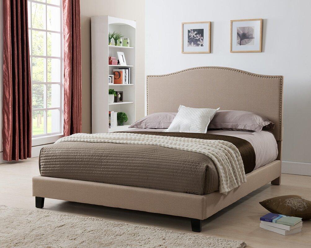 brittany upholstered platform bed