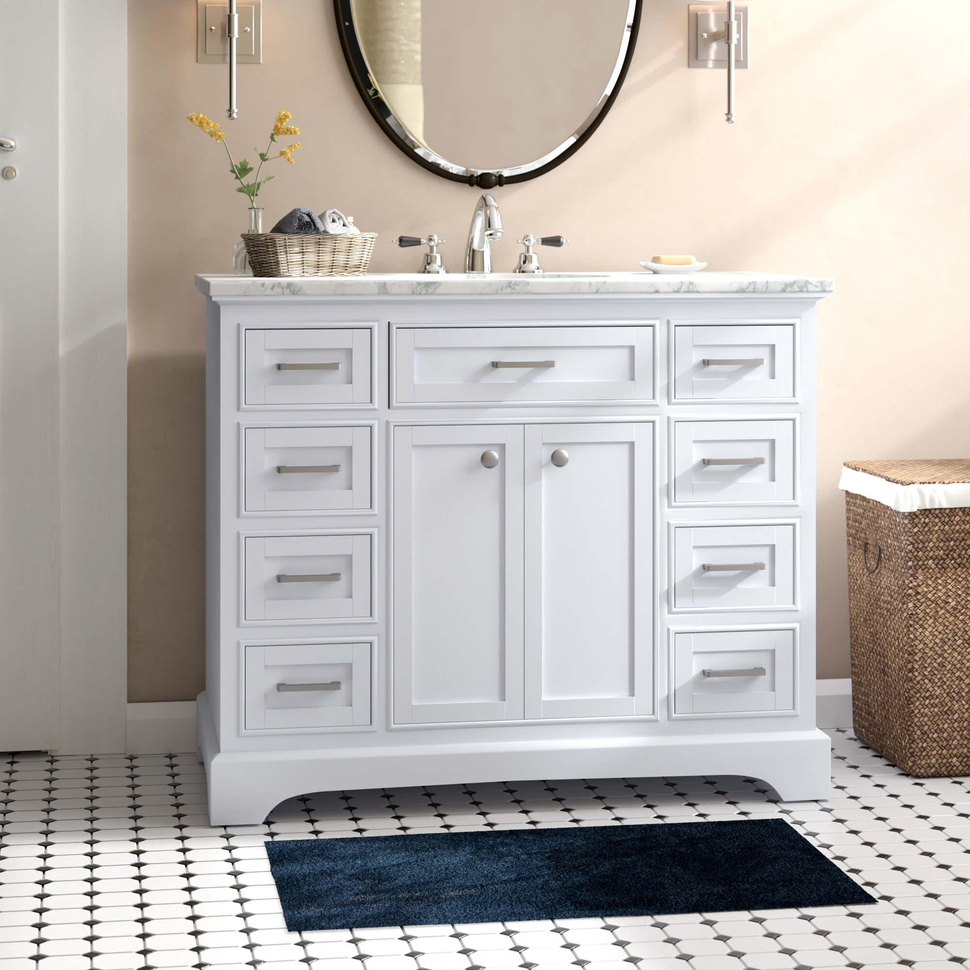 Darby Home Co Darry 42 Single Bathroom Vanity Set Reviews Wayfair