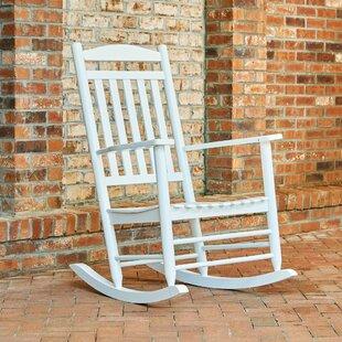 Palmyra Porch Rocker Chair by Beachcrest Home