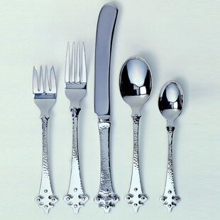 Celtic Crusader 5 Piece Flatware Set, Service for 1