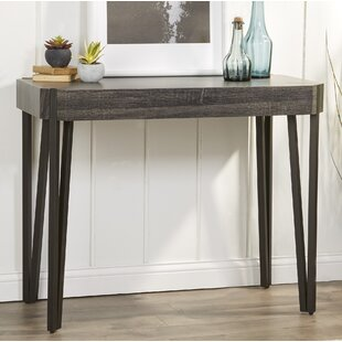 Review Bradbury Wood Console Table By Williston Forge
