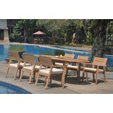 Harva 7 Piece Teak Dining Set