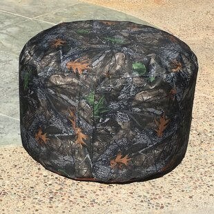 McDonald Camo Indoor/Outdoor Ottoman by Loon Peak