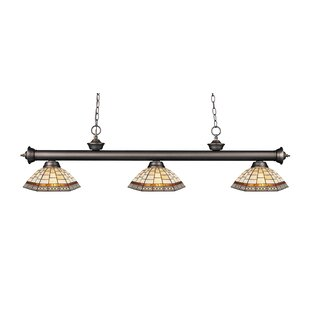 Fleur De Lis Living Billington 3-Light Pool Table Lights Pendant