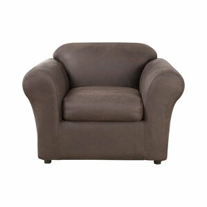 Ultimate Stretch Box Cushion Armchair Slipcover by Sure Fit