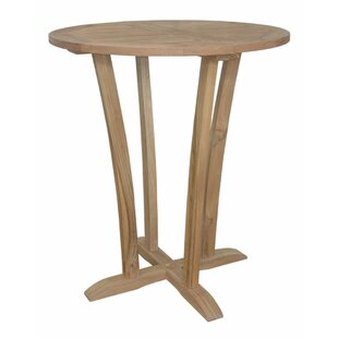 Descanso Wooden Bar Table