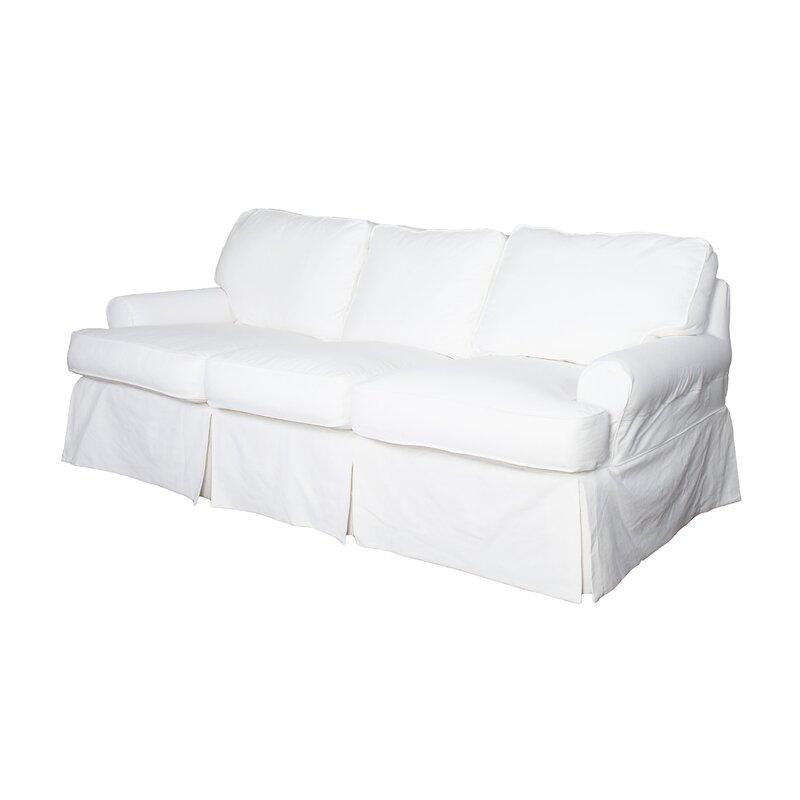 Wayfair | Beachcrest Home Coral Gables T-cushion Sofa Slipcover