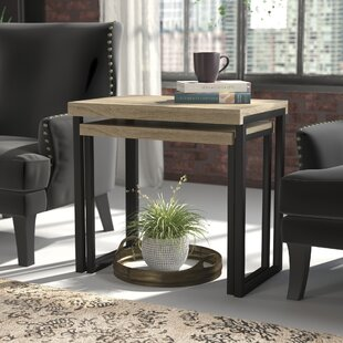 Bargain Abrianna 2 Piece Nesting Tables ByWilliston Forge