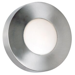 Wade Logan Cherrie 1-Light Outdoor Flush Mount
