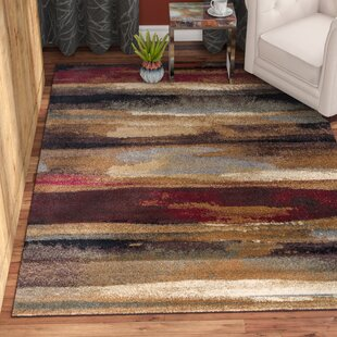 Check Prices Hartle Brown/Beige Area Rug By Ebern Designs