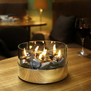 Burn Stainless Steel Paraffin Fire Pit By Metro Lane
