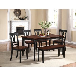 Stephenson 6 Piece Dining Set Canora Grey