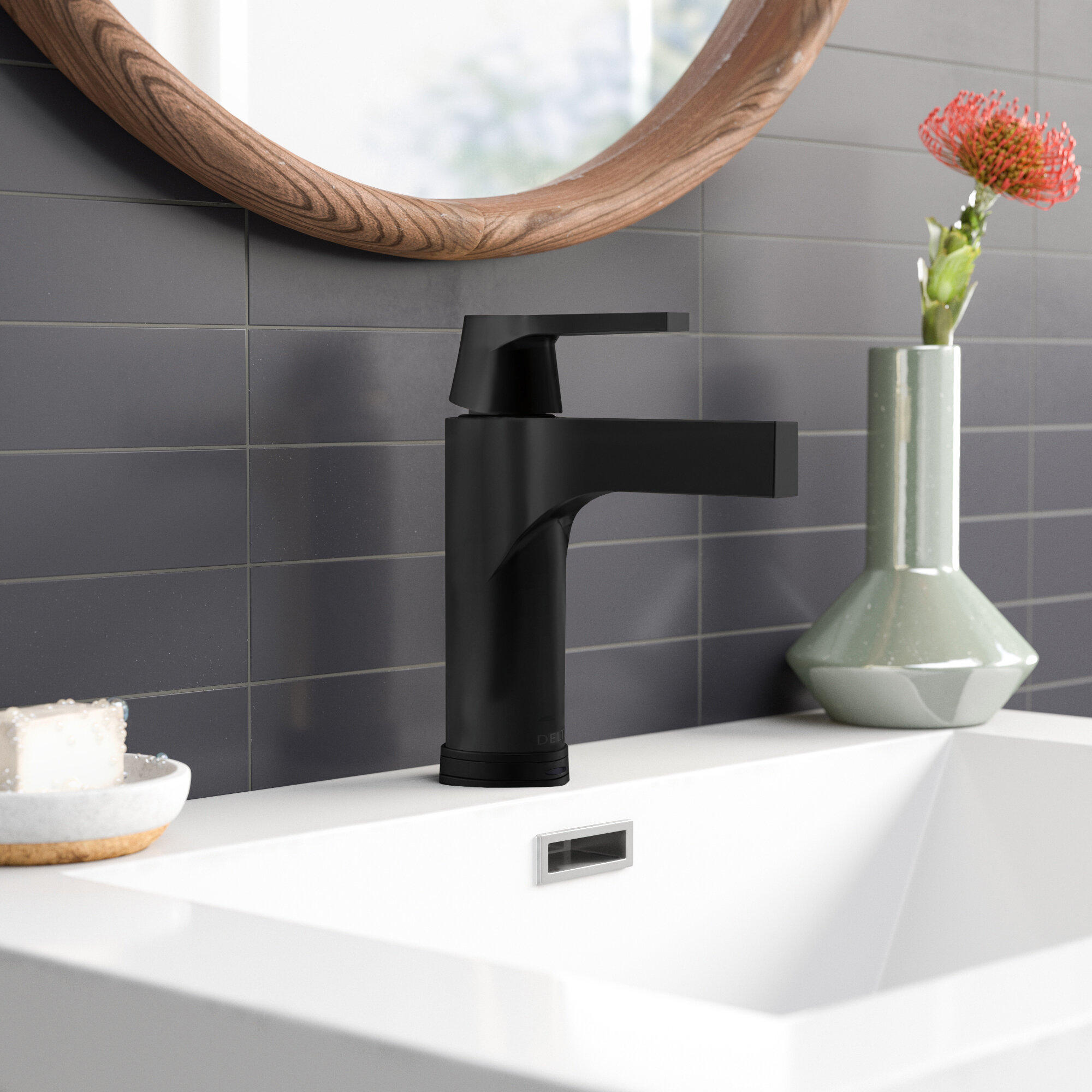 Zura Single Hole Bathroom Faucet With Drain Assembly And Diamond Seal Technology Reviews Allmodern