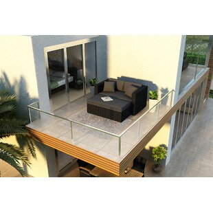 Harmonia Living Urbana Patio Daybed with Cushions