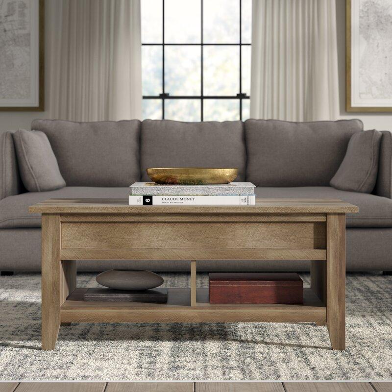 Greyleigh Table Basse Avec Rangement A Plateau Relevable