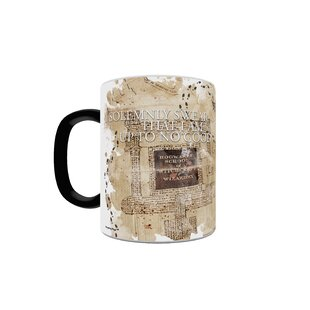World of Harry Potter Marauder's Map Heat Changing Morphing Mug