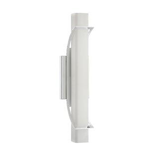 Compare prices Peters 1-Light LED Flush Mount By Orren Ellis