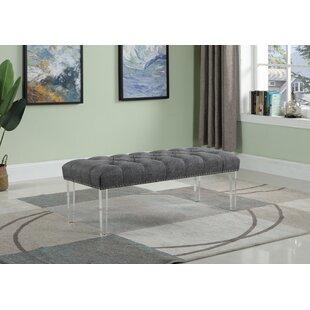 Mcclelland Upholstered Bench by Orren Ellis
