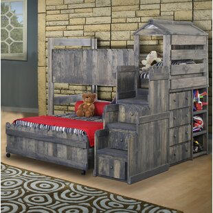 Best Reviews Lille Twin Over Full Bunk Bed with Stairway Chest by Harriet Bee Reviews (2019) & Buyer's Guide