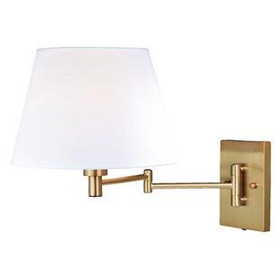 Charlton Home Hugo 1-Light Swing Arm Lamp