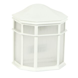 Great choice Oakhill 1-Light Outdoor Flush Mount By Charlton Home