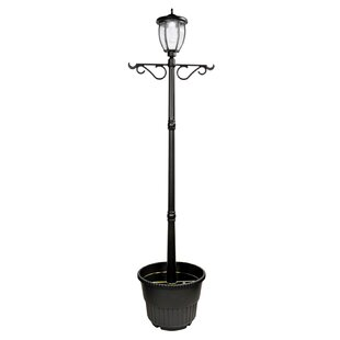 Compare prices Solar Powered 9-Light LED 82 Post Light By Nature Power