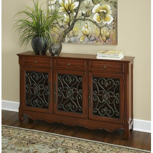 Nickelsville Scroll Console Table