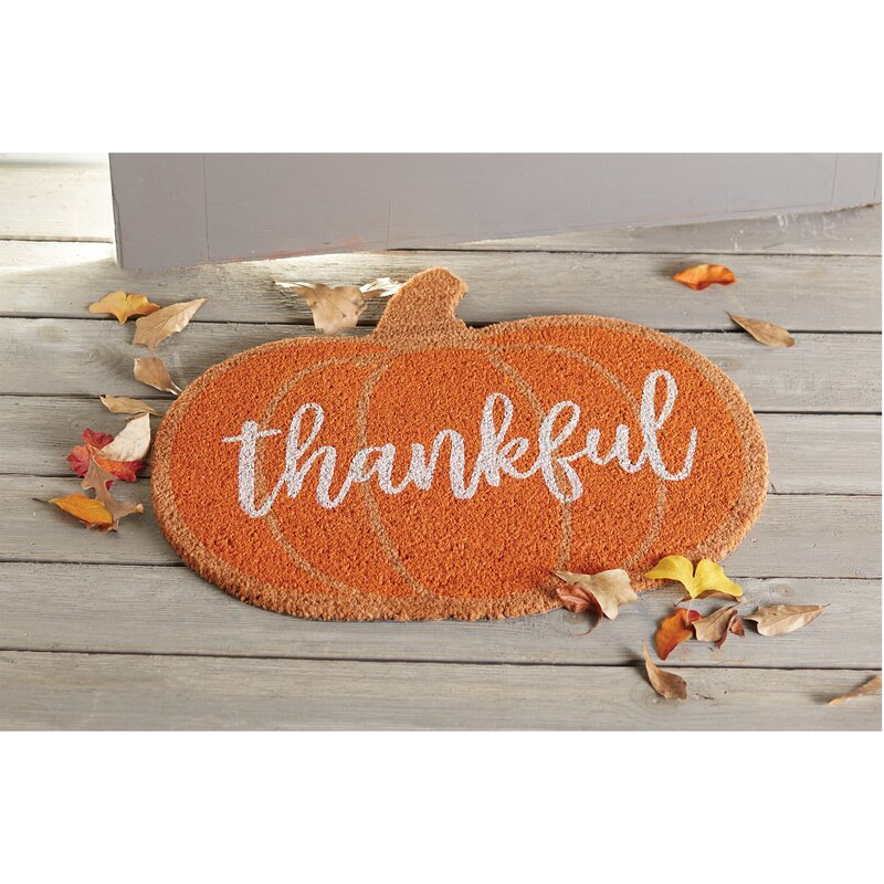 Pumpkin Thanksgiving Fall Doormat