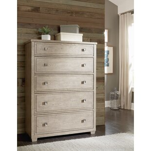 One Allium Way Amina 5 Drawer Chest
