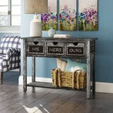 Winsted 3 Drawer Console Table by Gracie Oaks