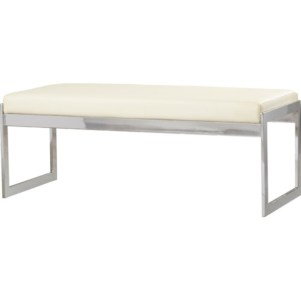 Belfield Faux Leather Upholstered Bench Reviews Joss Main