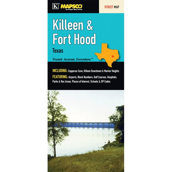 Copperas Cove Zip Code Map.Universal Map Killeen Fort Hood Fold Map Wayfair