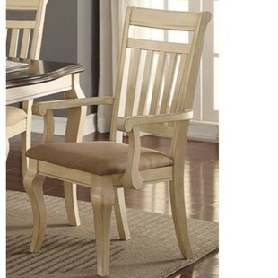 Hubbert Old Upholstered Dining Chair (Set of 2)