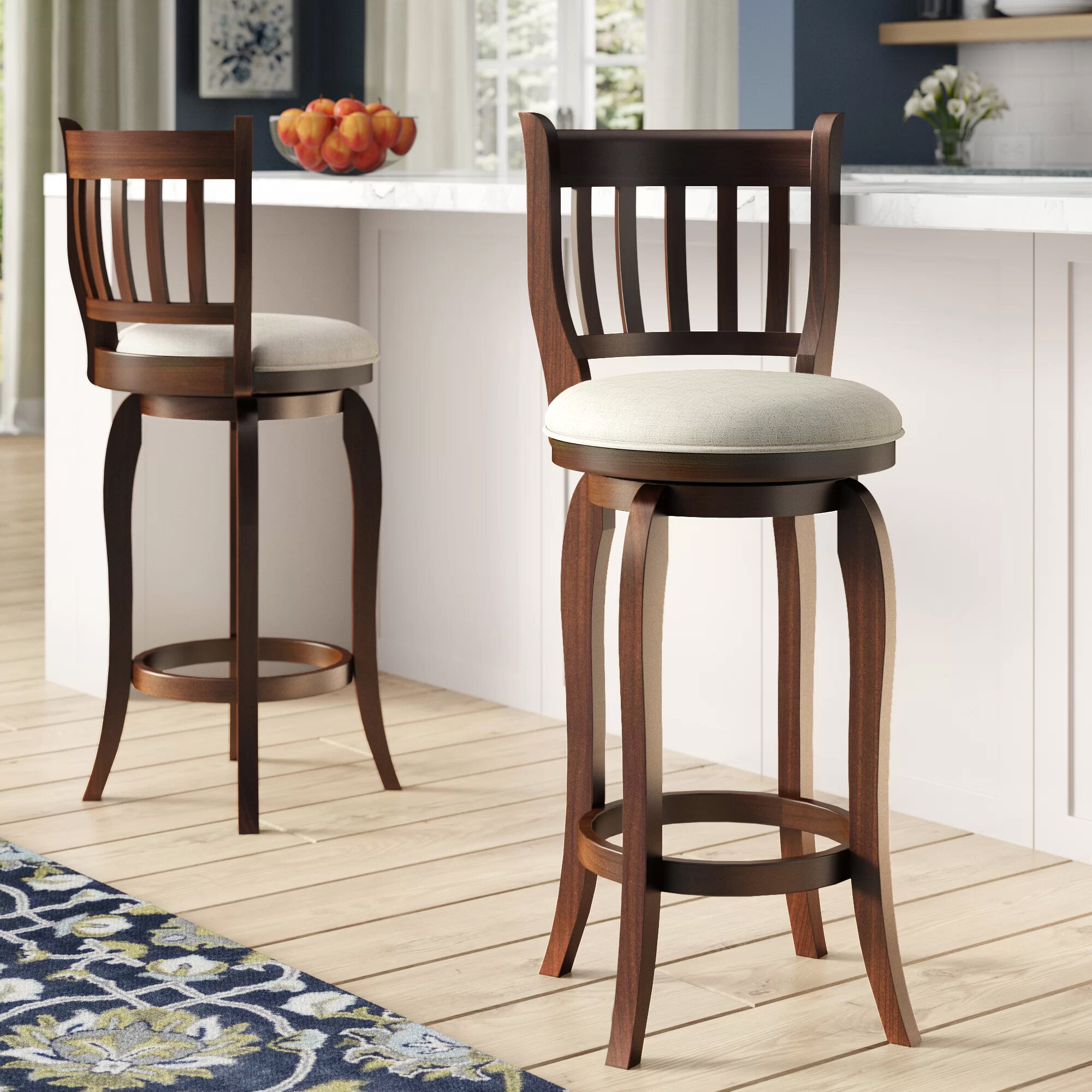 Morgan Bar Counter Swivel Stool