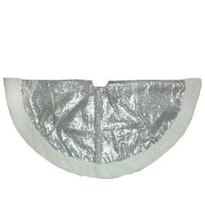 glided christmas tree skirt - Silver Christmas Tree Skirt