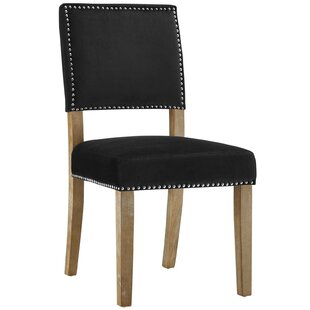 Trever Upholstered Dining Chair by Gracie Oaks Cool