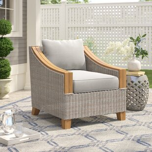 Online Purchase Kincaid Wicker & Teak Arm Chair Great Price