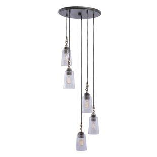 Dillon 5-Light Pendant by Kalco