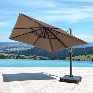 Bridgnorth 9.8' Cantilever Sunbrella Umbrella by Freeport Park