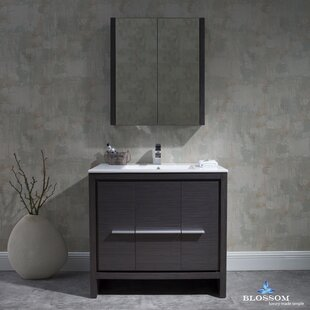 Artemis 35 Single Bathroom Vanity Set with Mirror ByIvy Bronx