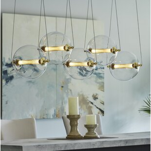 Otto 5-Light Cluster Pendant by Hubbardton Forge